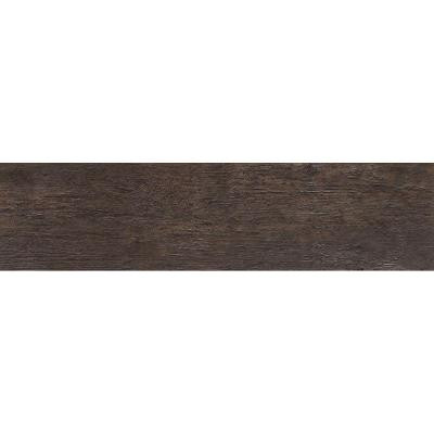 MARAZZI Riflessi Di Legno 5-13/16 in. x 23-7/16 in. Ebony Porcelain Floor and Wall Tile (9.46 sq. ft. / case)