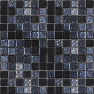 Epoch Architectural Surfaces Metalz Galena-1013 Mosiac Recycled Glass Mesh Mounted Floor and Wall Tile - 3 in. x 3 in. Tile Sample