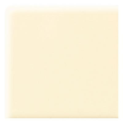 Daltile Semi-Gloss Crisp Linen 2 in. x 2 in. Ceramic Bullnose Corner Wall Tile-DISCONTINUED