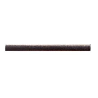 Daltile Pangea Metals Rust 1/2 in. x 6 in. Flora Pencil Liner Wall Tile