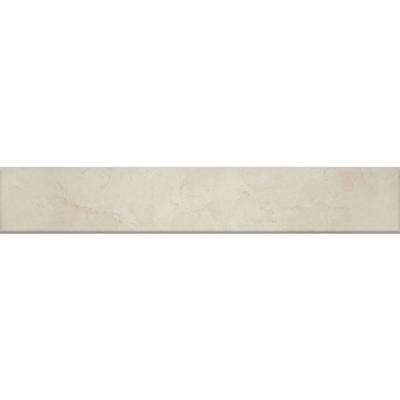 MS International Castillo Beige 3 in. x 8 in. Glazed Porcelain Bullnose Wall Tile
