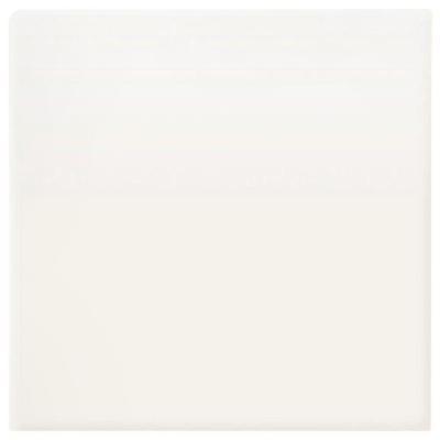 Daltile Modern Dimensions 4-1/4 in. x 4-1/4 in. Matte Arctic White Ceramic Bullnose Corner Wall Tile
