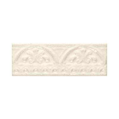 Daltile Fashion Accents Almond 3 in. x 8 in. Ceramic Arches Accent Wall Tile