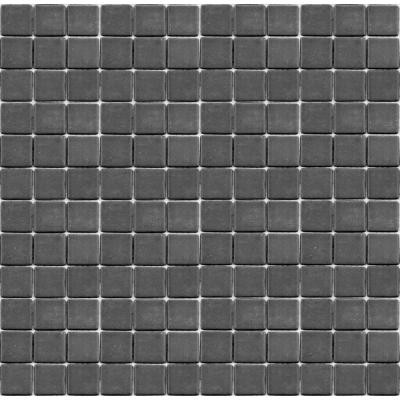 Epoch Architectural Surfaces Teaz Earl Grey-1202 Mosiac Recycled Glass Mesh Mounted Floor and Wall Tile - 3 in. x 3 in. Tile Sample