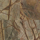 Daltile Natural Stone Collection Rainforest Green 12 in. x 12 in. Marble Floor and Wall Tile (10 sq. ft. / case)