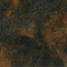 MARAZZI Imperial Slate Black 16 in. x 16 in. Rust Ceramic Floor and Wall Tile (13.78 sq. ft. / case)