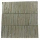Splashback Tile 4 in. x 12 in. Glass Subway Floor and Wall Tile-DISCONTINUED