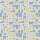 Mosaic Loft Scatter Beach Motif 24 in. x 24 in. Glass Wall and Light Residential Floor Mosaic Tile