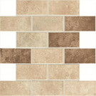 Daltile Santa Barbara Pacific Sand Blend 12 in. x 12 in. x 6 mm Mosaic Floor and Wall Tile