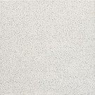 Daltile Colour Scheme Arctic White Speckled 6 in. x 6 in. Bullnose Porcelain Floor and Wall Tile-DISCONTINUED