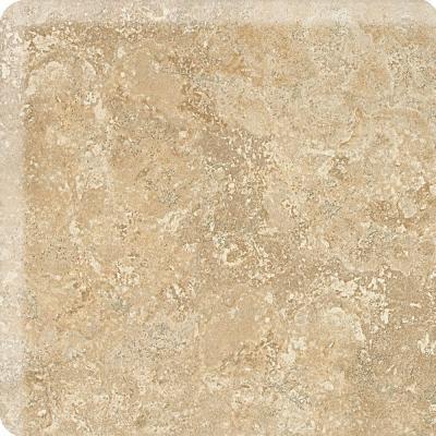 Daltile Fantesa Cameo 2 in. x 2 in. Glazed Ceramic Bullnose Corner Wall Tile