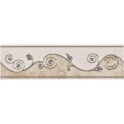 ELIANE Melbourne Sand 3 in. x 8 in. Ceramic Listello Wall Tile