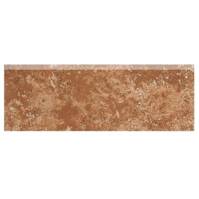 MARAZZI Montagna Soratta 3 in. x 12 in. Porcelain Bullnose Floor and Wall Tile