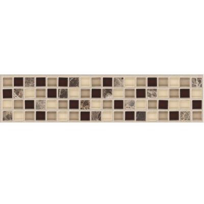 MARAZZI Artisan Bellini 2-3/4 in. x 12 in. x 8 mm Marble Mosaic Floor and Wall Tile