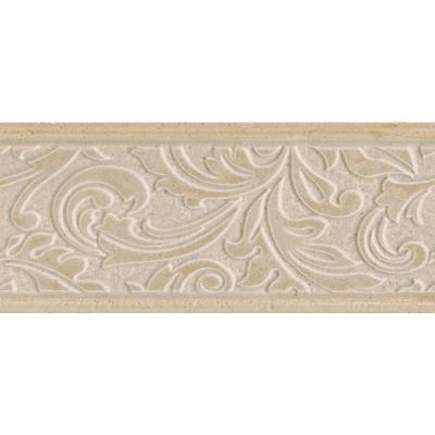 Daltile Brixton Bone 4 in. x 9 in. Ceramic Decorative Wall Tile