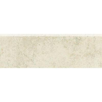Daltile Briton Bone 3 in. x 12 in. Bullnose Floor and Wall Tile