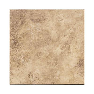 Daltile Salerno Marrone Chiaro 6 in. x 6 in. Glazed Ceramic Bullnose Wall Tile