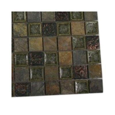 Splashback Tile Roman Selection Rural Trail Glass Floor and Wall Tile Sample