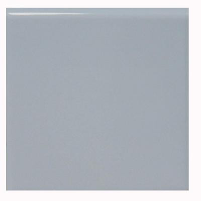 U.S. Ceramic Tile Bright Wedgewood 4-1/4 in. x 4-1/4 in. Ceramic Surface Bullnose Wall Tile