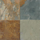 MS International Three Rivers Gold 12 in. x 12 in. Gauged Slate Floor and Wall Tile (10 sq. ft. / case)