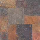 MS International Peacock Pattern Gauged Slate Floor and Wall Tile (16 sq. ft. / case)