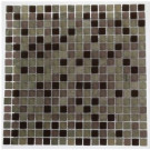 Splashback Tile Rocky Mountain Blend 12 in. x 12 in. x 8 mm Glass Floor and Wall Tile