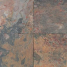 Daltile Natural Stone Collection Sunset Glory 12 in. x 12 in. Slate Floor and Wall Tile (10 sq. ft. / case)